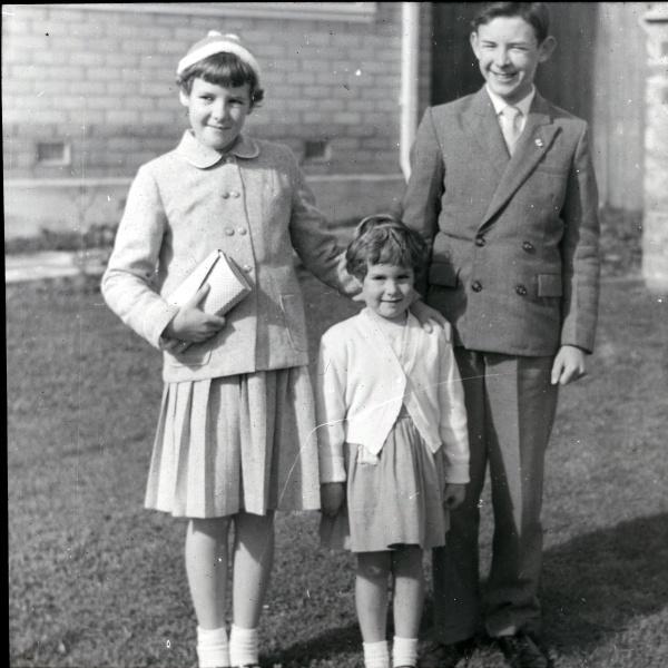 Adrian, Carol and Judyth Evans