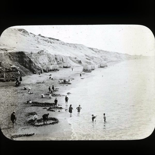 Bournemouth beach circa 1901