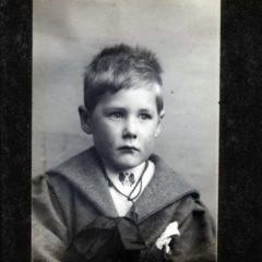 Percy as a boy.