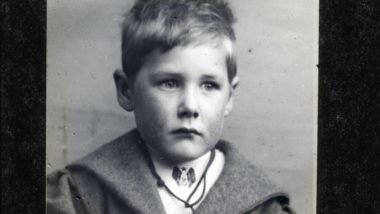 Percy as a boy.