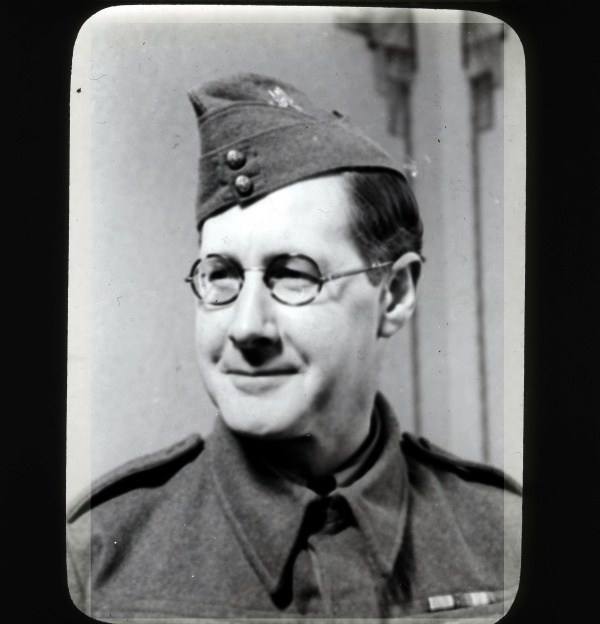 Percy, 2nd World War Home Guard uniform.