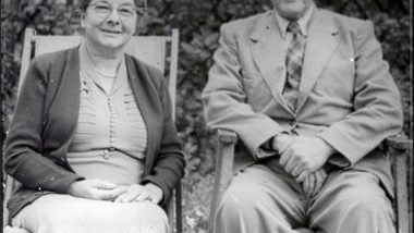 Maud and Percy together after many years of happy marriage.