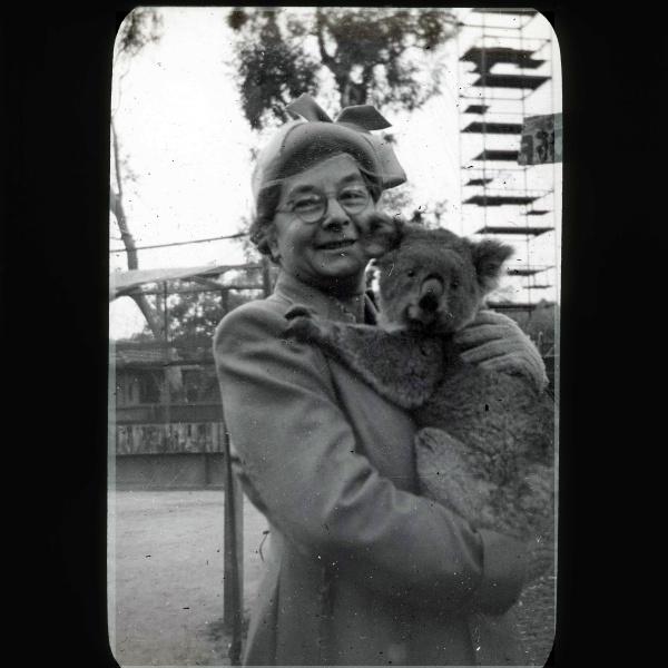 Maud Evans.