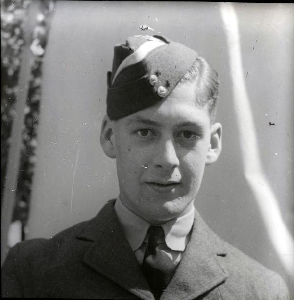 Douglas in Boys Brigade Uniform.