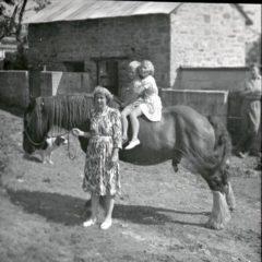 Marjorie Leading Horse