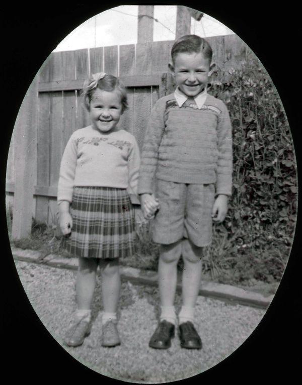 Adrian and Carol Evans