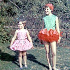 Carol and Judyth Evans