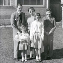 Dennis and Jeannette and family.