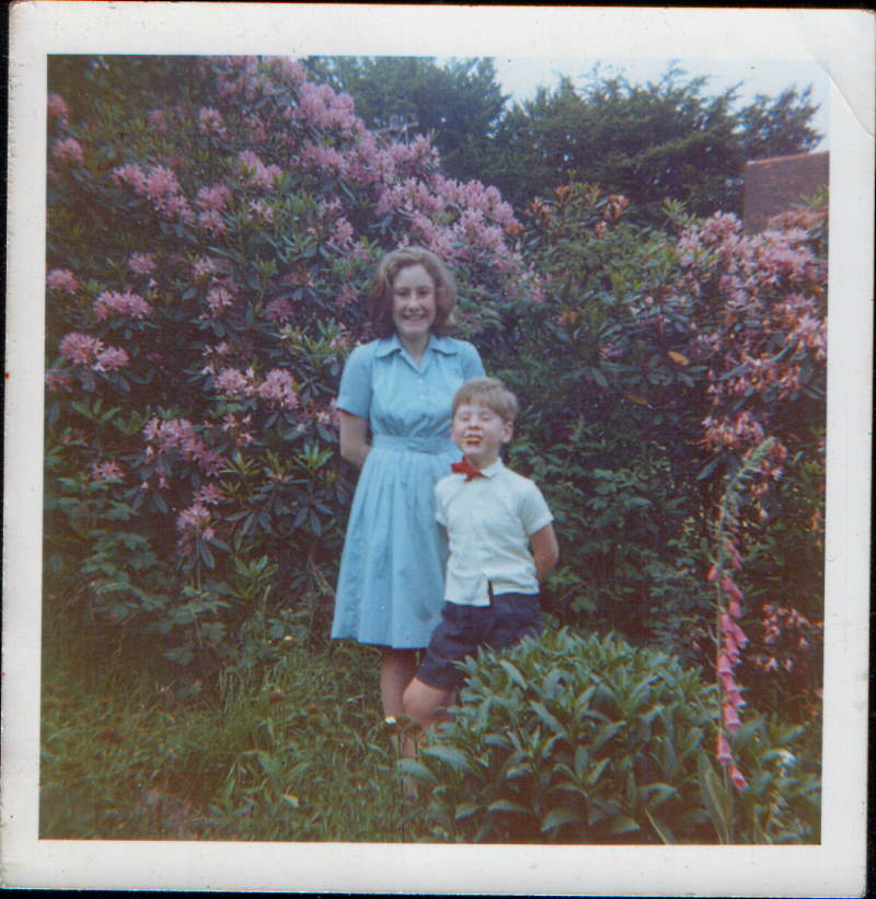 Susan and Jonathan in Weardale Garden